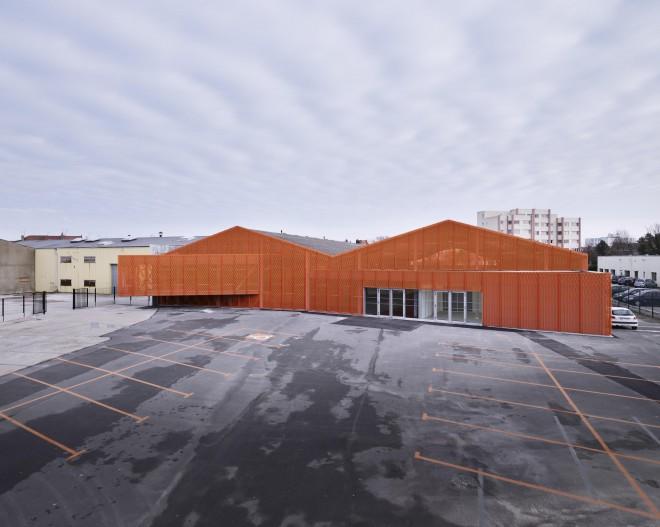 Skatepark Calais BANG architecture