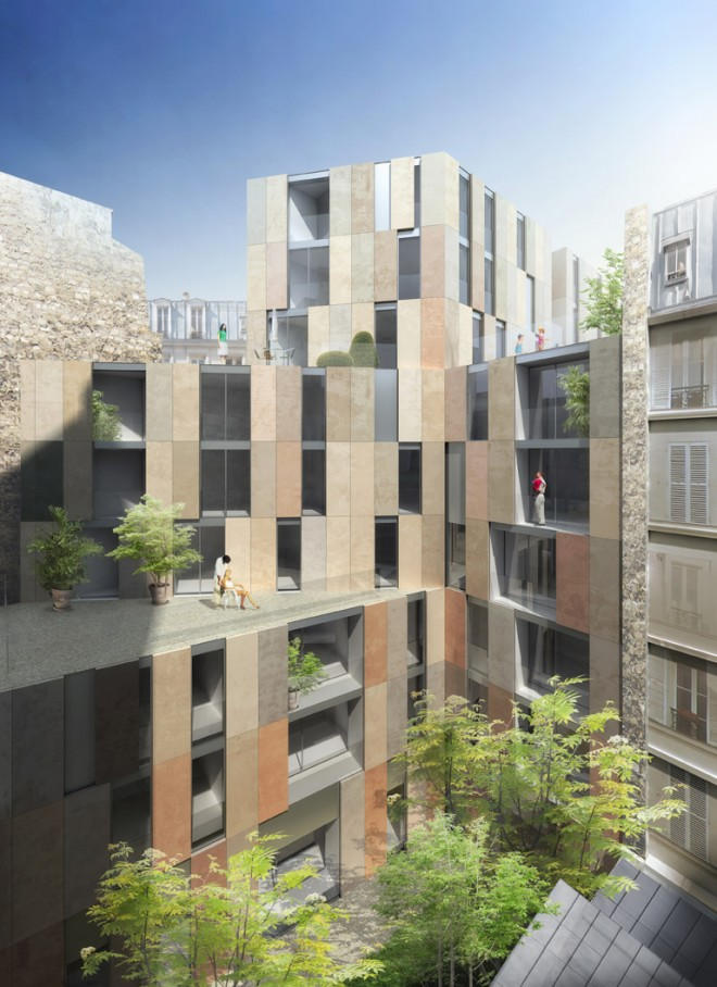 31 logements sur boulevard mir for Architecte nom